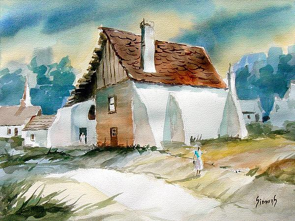 George's House Print by Sam Sidders