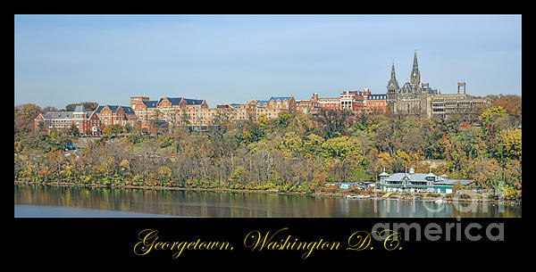 Georgetown Poster Print by Olivier Le Queinec