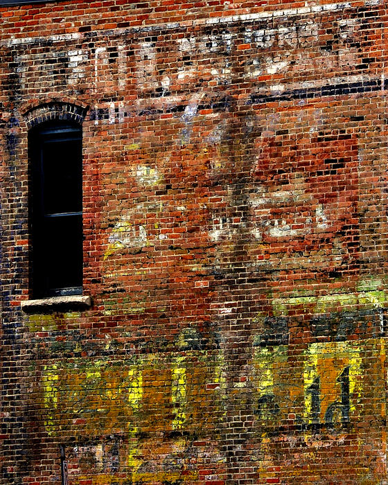 Ghost Sign 13469 3 Print by Jerry Sodorff