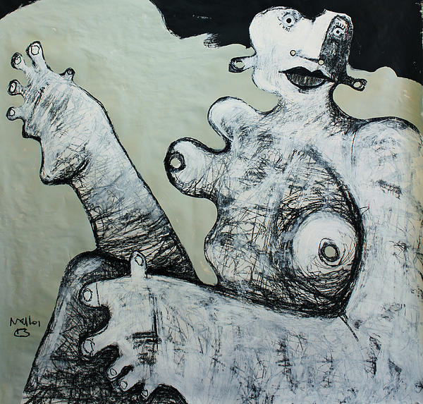 Gigantes No. 1 Print by Mark M  Mellon