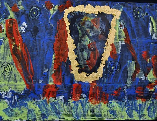 Girl In The Mirror Print by Brenda Chapman