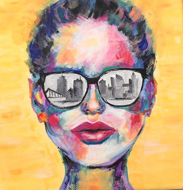 Rox Negrau - Girl with sun glasses