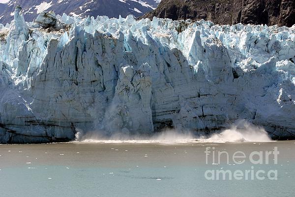 Glacier Bay Alaska Print by Sophie Vigneault