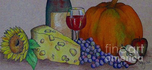Catherine Howley - Glass Of Red