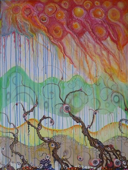 Global Warming...those Who Deny May Live To See Print by Douglas Fromm