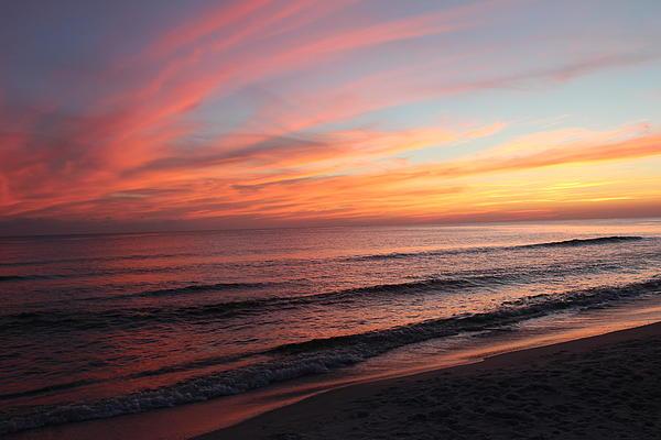 Glorious Sunset Print by Vicki Kennedy