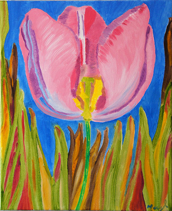 Meryl Goudey - Glow of a Tulip