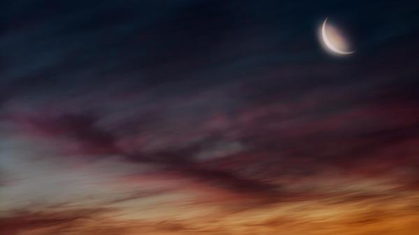 Glowing Moon Print by Bill  Wakeley