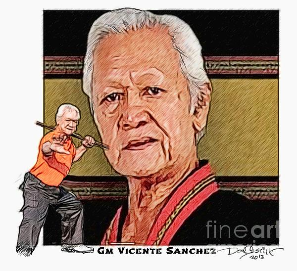 Gm Vicente Sanchez Print by Donald Castillo