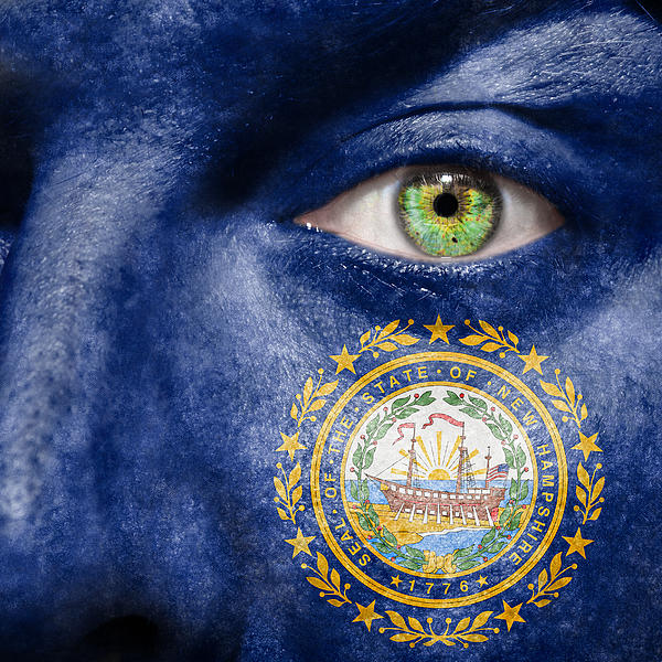 Go New Hampshire Print by Semmick Photo