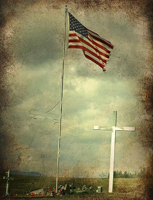God And Country Print by Doug Fredericks
