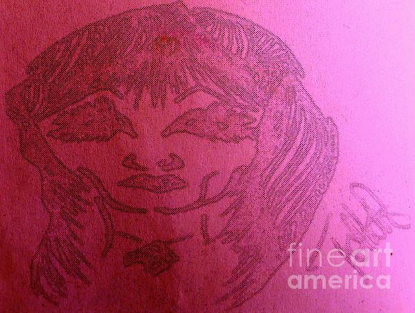 Goddess Archetype Of Careers Print by Lady Picasso Tetka Rhu