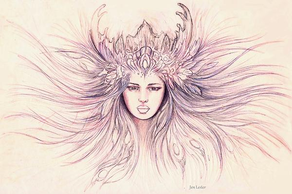Jen Lester - Goddess Diana