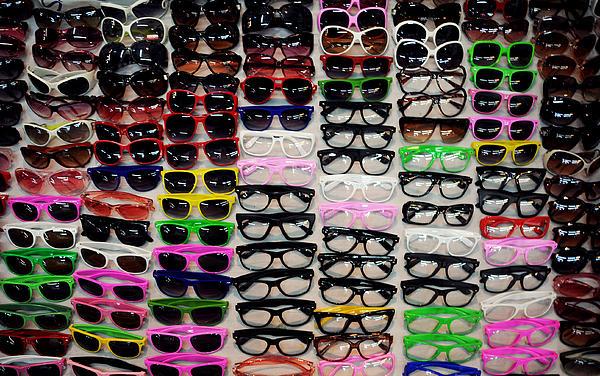 Goggles Print by Money Sharma