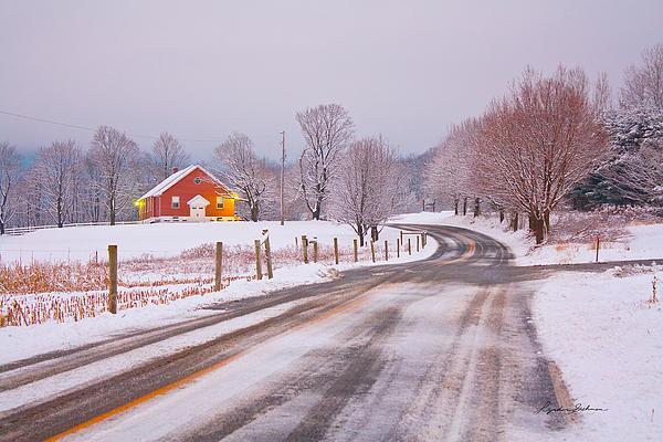 Lyndon Gehman - Going to Church on a Snowy Morning