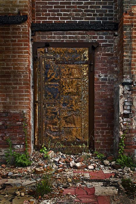 Golden Door Print by Murray Bloom