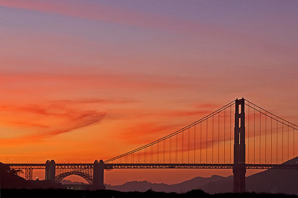 Kate Brown - Golden Gate Sunset