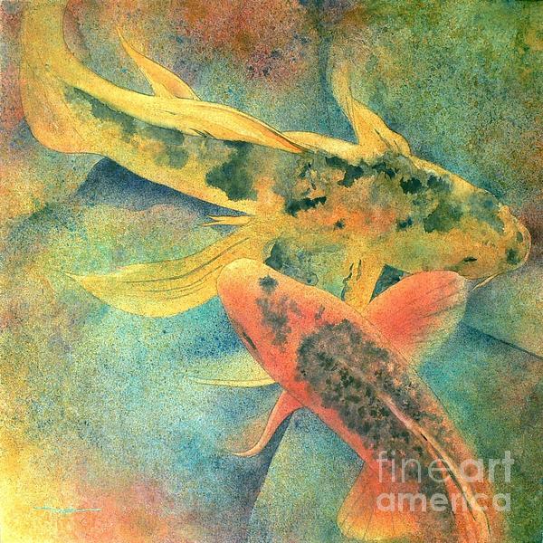 Goldfish Print by Robert Hooper