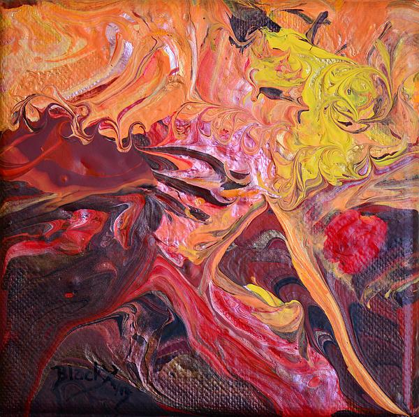 Goldilocks' Dementia Print by Donna Blackhall