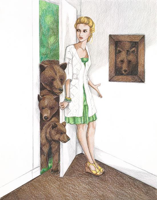 Goldilocks Print by Emily Bostwick