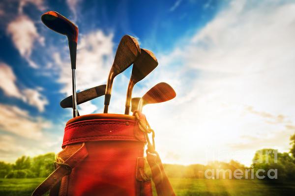 Golf Equipment  Print by Michal Bednarek