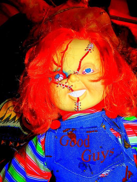 Good Guy Chuckie Print by Ed Weidman