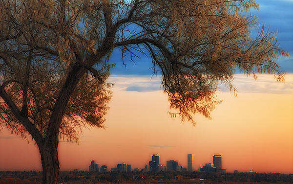 Good Morning Denver Print by Darren  White