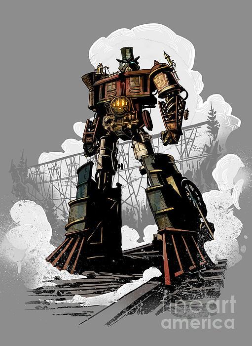 Good Robot Print by Brian Kesinger