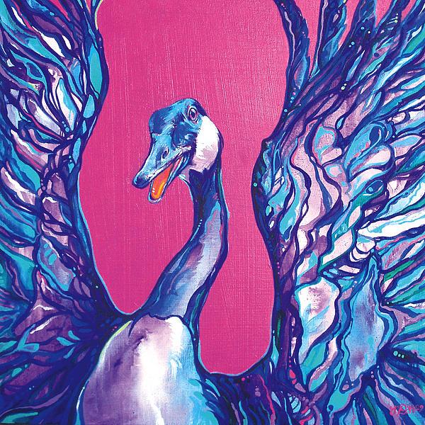 Goose Print by Derrick Higgins
