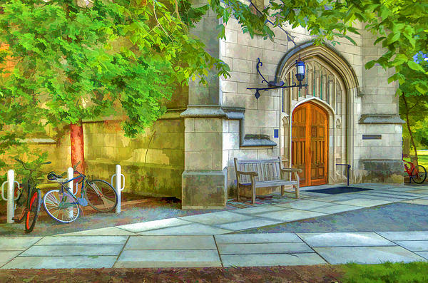 Geraldine Scull ART - Gothic Bldg at Princeton University