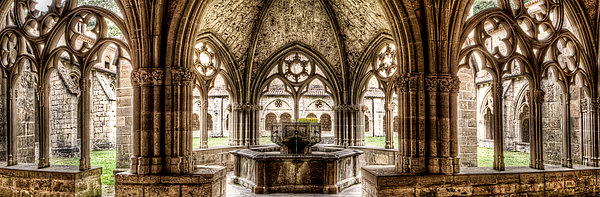 Weston Westmoreland - Gothic Cloister Fountains