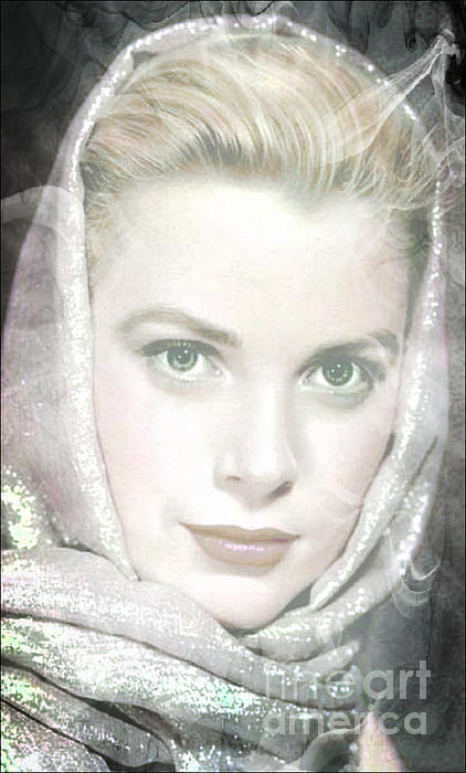 Grace Kelly Print by M and L Creations