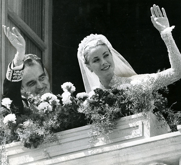 Grace Kelly Waves Print by Retro Images Archive