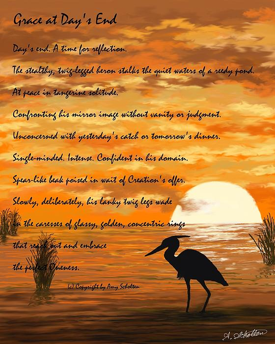Amy Scholten - Grace with a poem