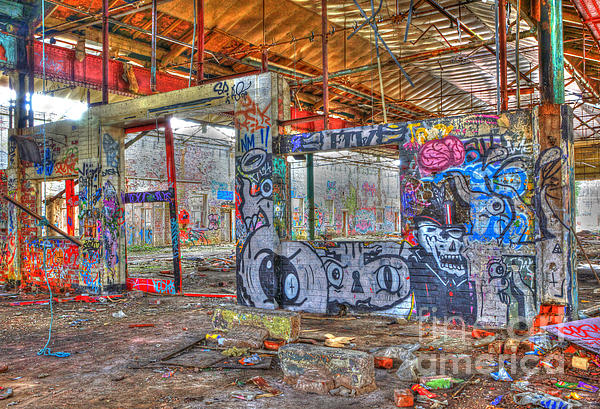 Graffiti Heaven Print by David Birchall