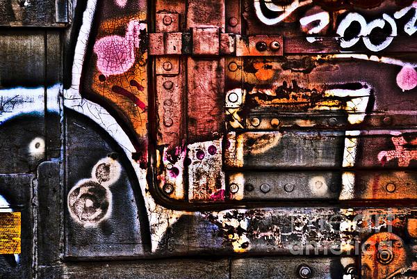 Graffiti II Print by Alana Ranney