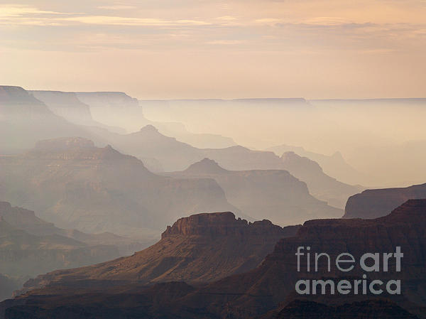 Grand Canyon From Lipan Point Print by Alex Cassels