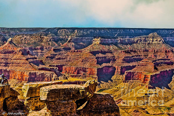 Grand Canyon Mather Viewpoint Print by  Bob and Nadine Johnston