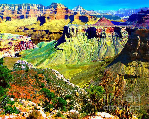 Bob and Nadine Johnston - Grand Canyon View from Kaibab Trail