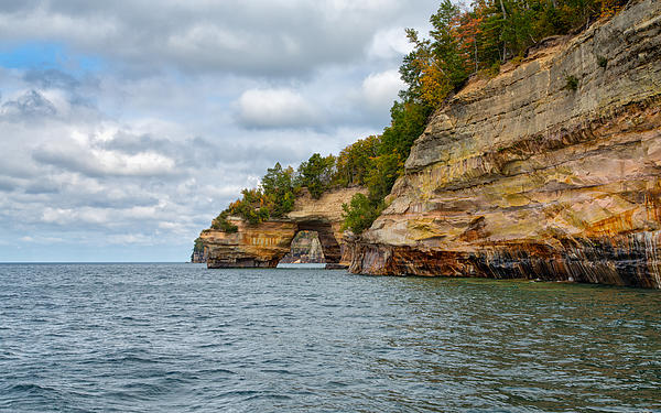 John Bailey - Grand Portal at Pictured Rocks