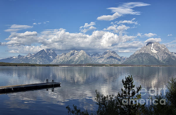 Belinda Greb - Grand Tetons in the Morning Light