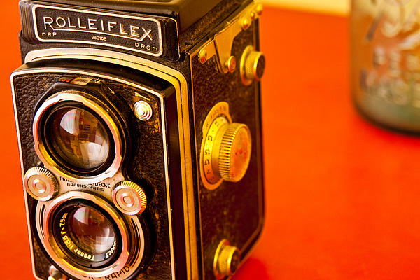 Grandfather's Camera Print by Mark Weaver
