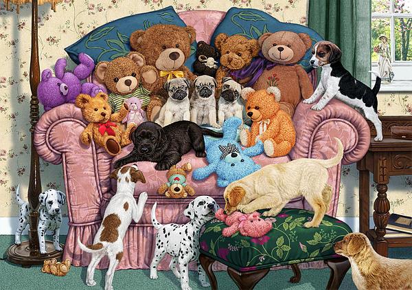 Grandma's Armchair Print by Steve Read