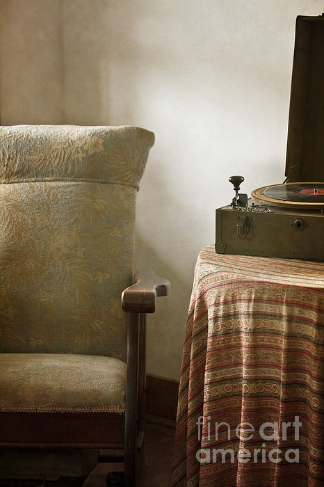 Grandma's Chair Print by Margie Hurwich