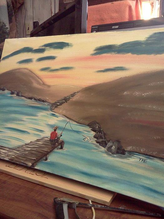 Grandpa's  Passion Print by Renee McKnight