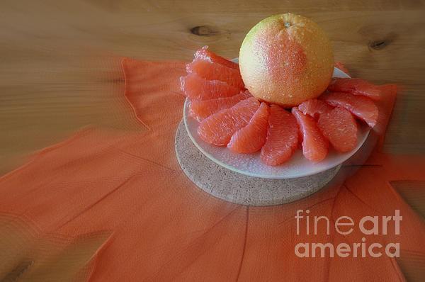 Grapefruits Print by Ana Lusi