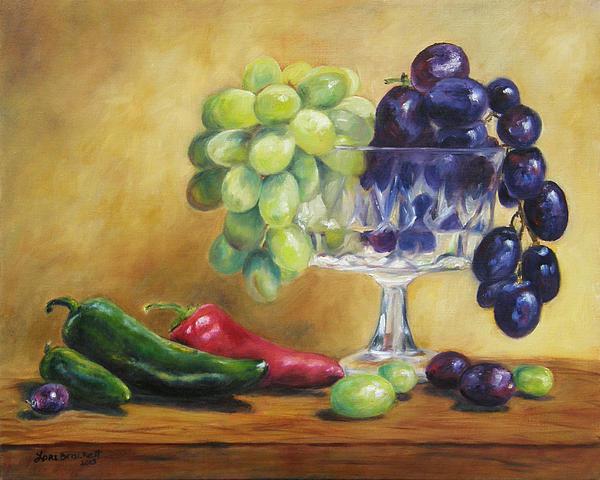 Lori Brackett - Grapes and Jalapenos