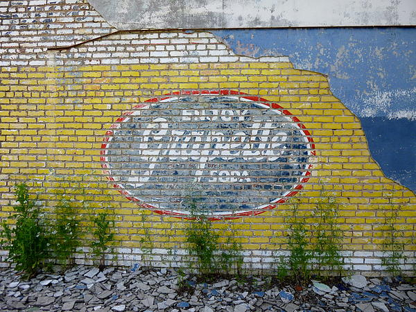 Grapette Sign Print by Kay Sparks