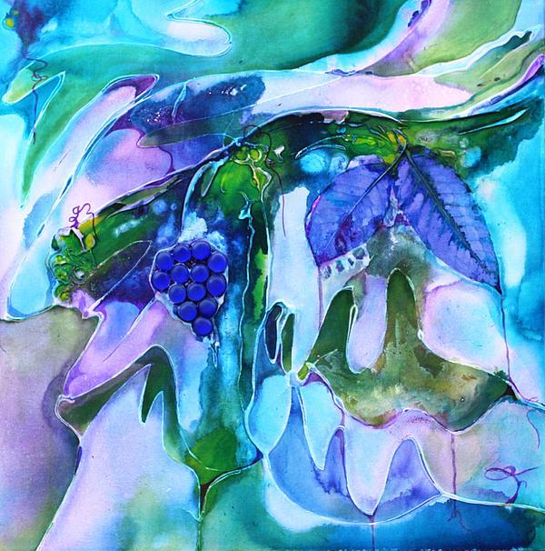 Grapevine Twist Print by Pat Purdy