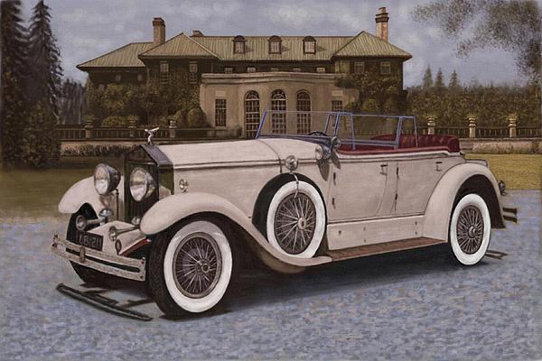 Gatsby Car: Great Gatsby Car By Robert Romhanyi